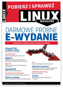 bezpłatne e-wydanie Linux Magazine