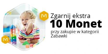 +10 Monet przy zakupie za min. 120 zł w kategoriach Zabawki, Zabawki ogrodowe @Allegro