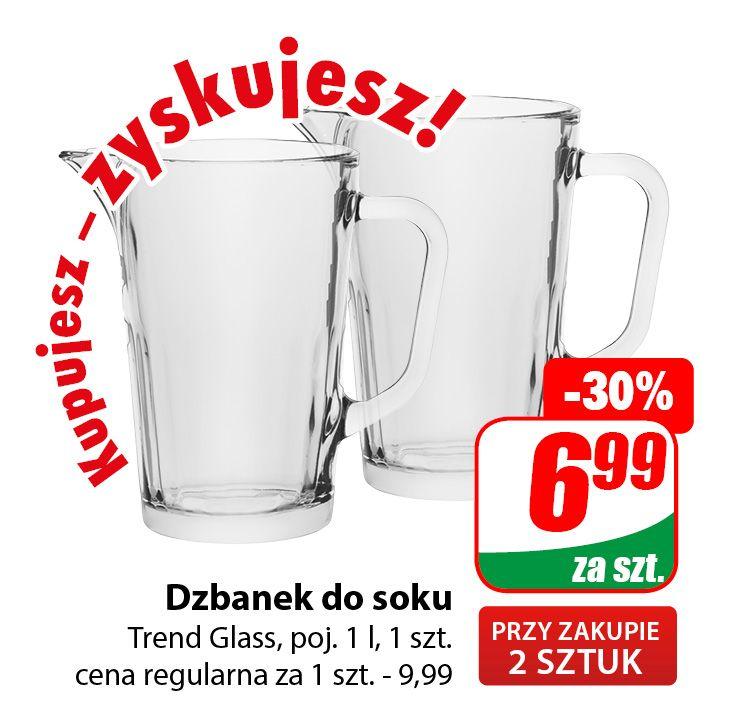 Dzbanek do soku Trend Glass 1l (cena przy zakupie 2szt.) - DINO