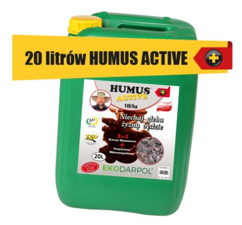 Nawóz Humus Active dla gospodarstwa rolnego