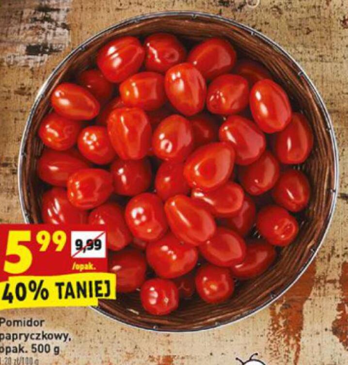 Pomidor papryczkowy 500g