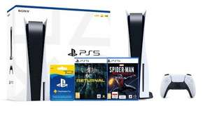 Sony PlayStation 5 + Returnal + Marvel's Spider-Man: Miles Morales + PlayStation Plus (3 m-ce)