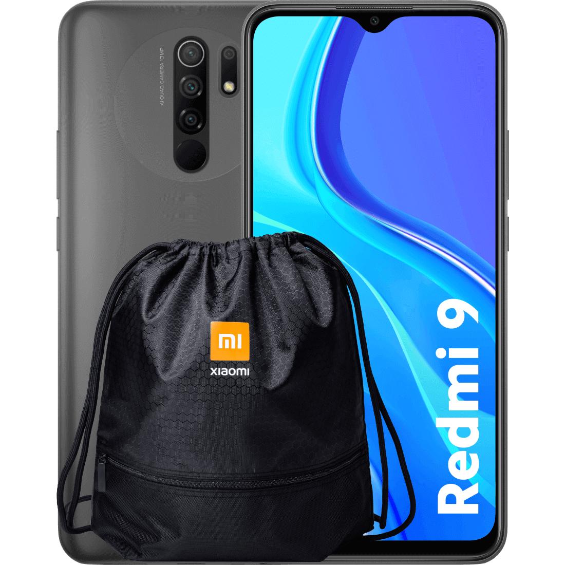 Xiaomi Redmi 9 4/64 + plecak