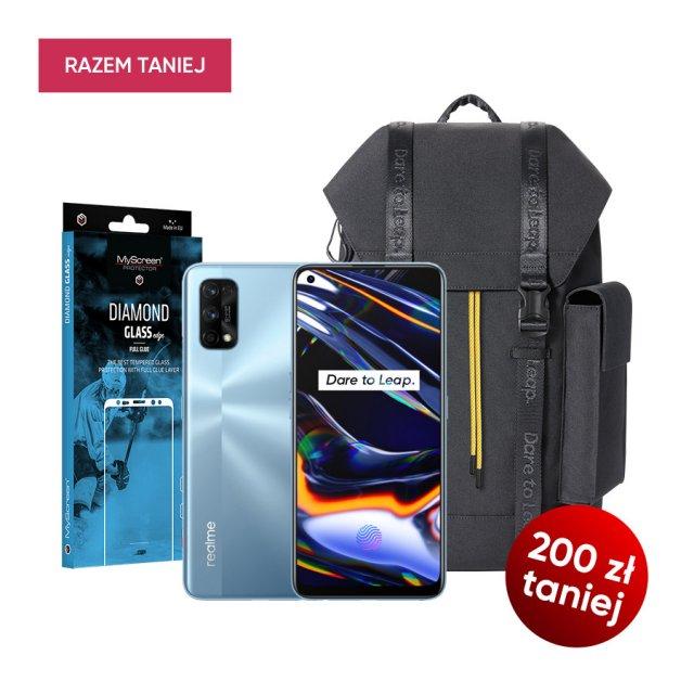 realme 7 Pro 8/128GB + szkło ochr. + plecak 200zł taniej