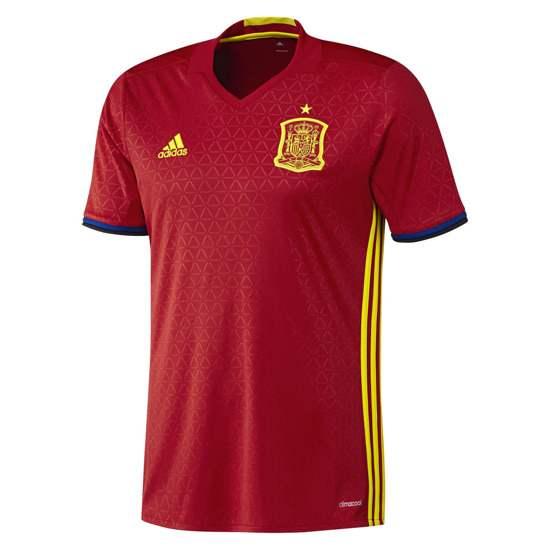 Adidas - replika koszulki hiszpańskiej reprezentacji Euro 2016 - 99,95 zł z dostawą w @sportrabat - S, XL, XXL