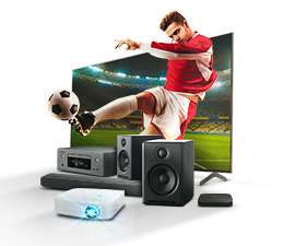 Promocja na telewizory i sprzęt audio w x-kom (np. Soundbar i subwoofer Polk Audio Signa S2 za 699 zł)