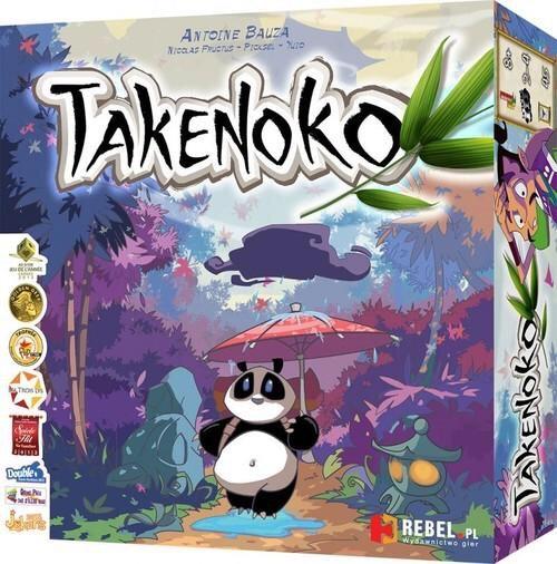 Takenoko - gra planszowa z pandą