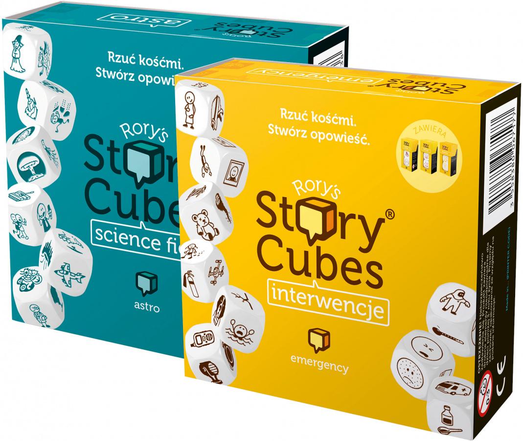 Story Cubes różne - gra planszowa