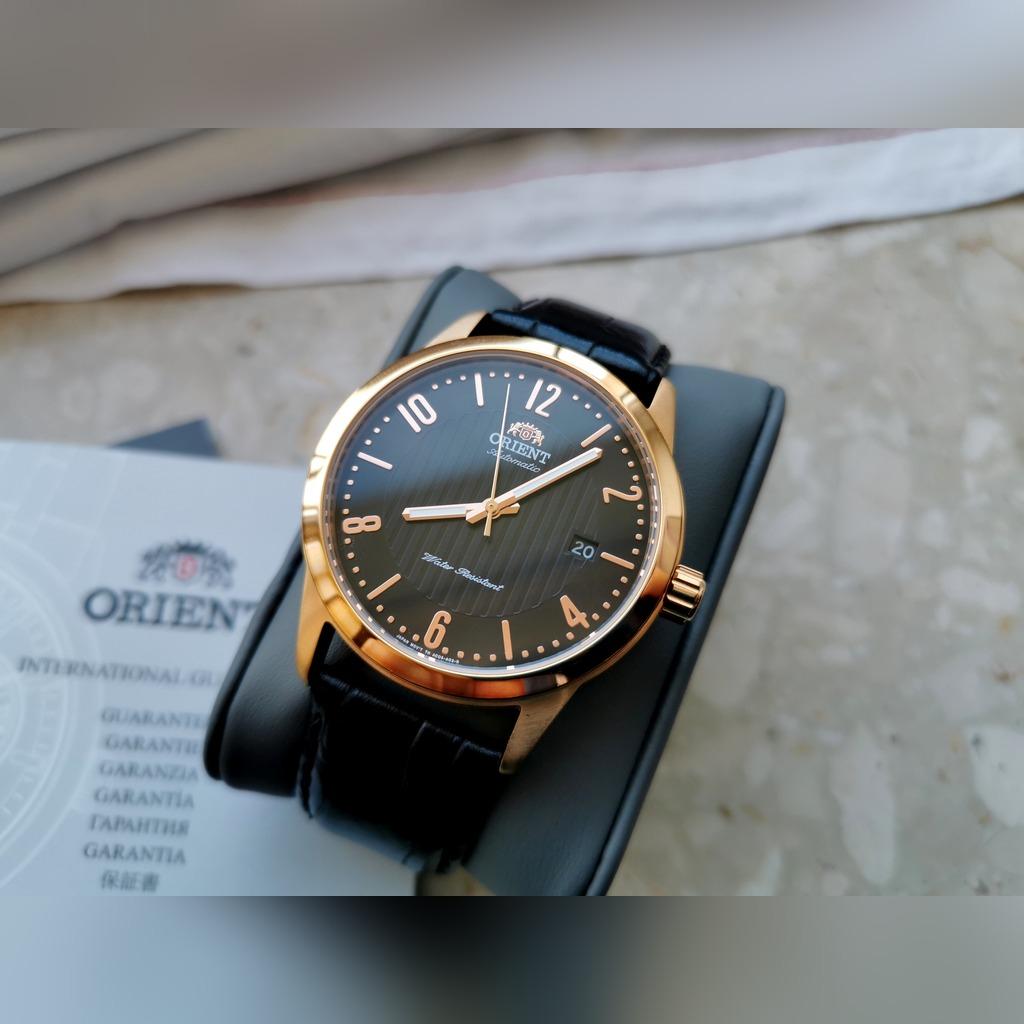 Zegarek Orient Howard Automatic FAC05005B0 z Polski