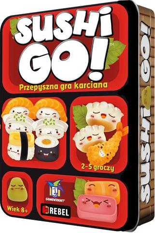 gra planszowa Sushi Go! (edycja polska)