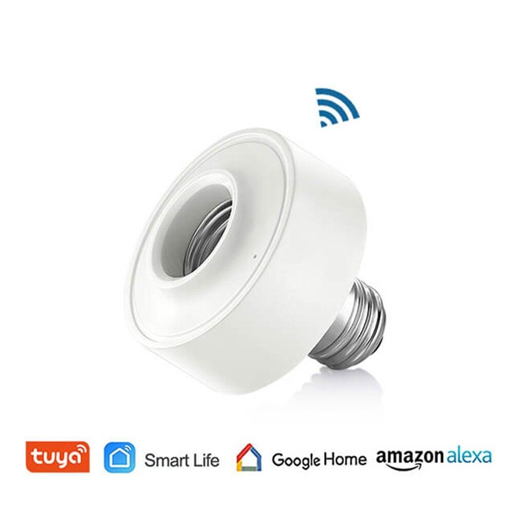 WiFi gniazdo elektryczne oprawka do żarówki Led E27 E26 10,37$