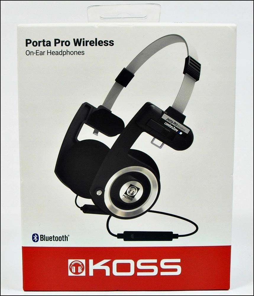 Słuchawki Koss Porta Pro Wireless / wersja z Bluetooth