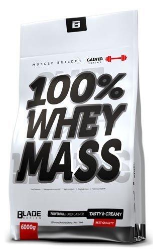 Odżywka na masę HI TEC BLADE 100% Whey Mass 6000g