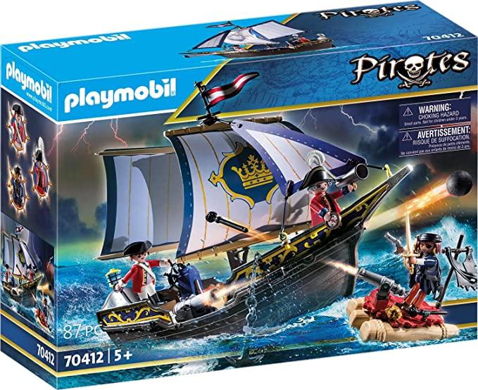 PLAYMOBIL Pirates 70412 Statek Rotrock