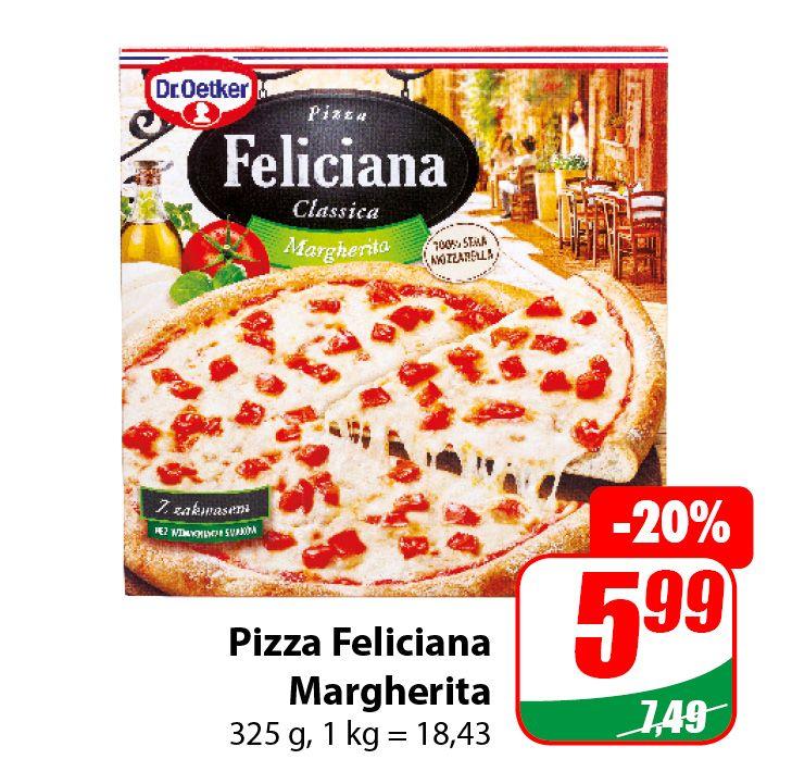 Pizza Feliciana Margherita 325g - DINO