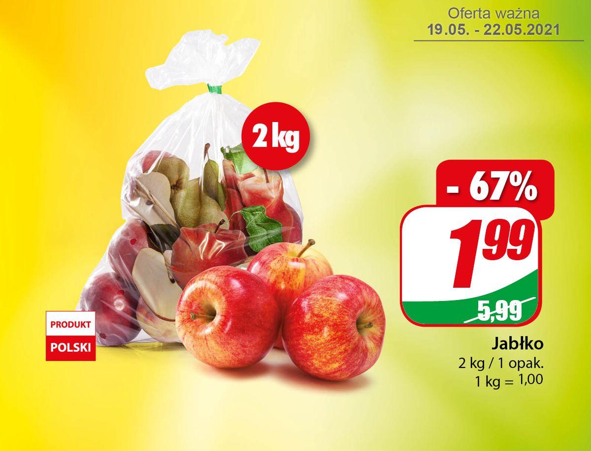 Jabłko 2kg (1zł/1kg) - DINO