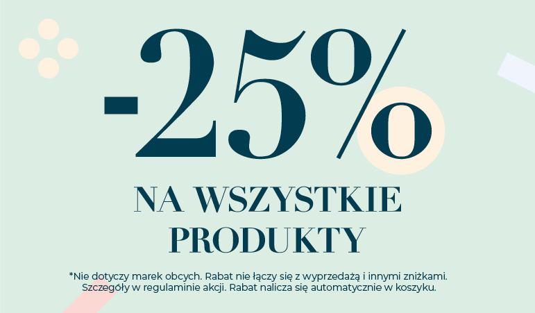 -25% na produkty w cenach regularnych, tylko online @Homeandyou