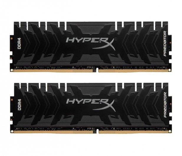 HyperX 16GB (2x8GB) 3200MHz CL16 Predator Black gorący strzał
