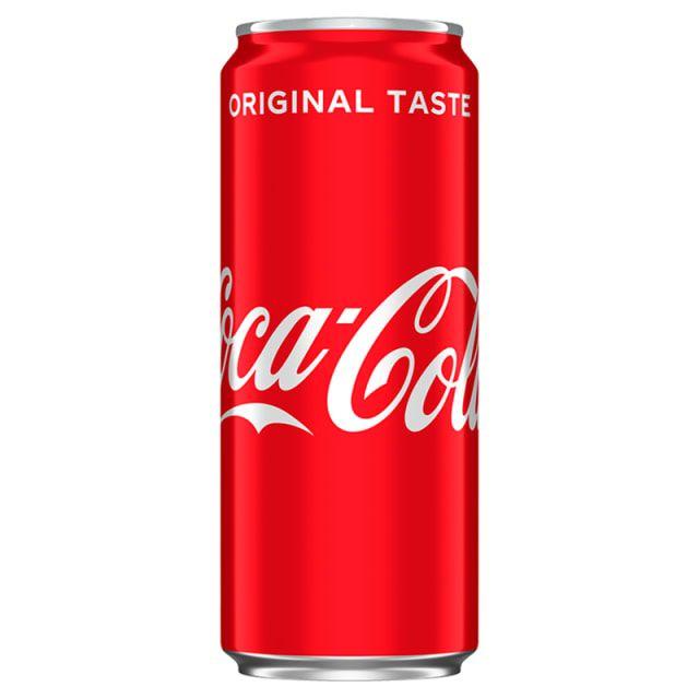 Napój gazowany coca-cola, sprite, fanta 0.33l ABC