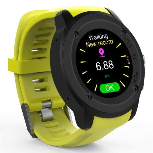 Smartwatch MAXCOM FW17 Power GPS BT żółty i biały