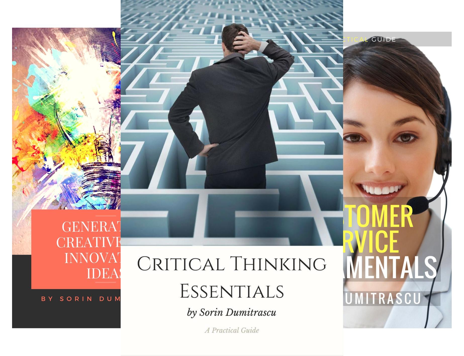 10 ZA DARMO eBooks: Critical Thinking, Creative Innovative Ideas, Customer Service, Portfolio Management, Presentation Skill etc - Amazon US