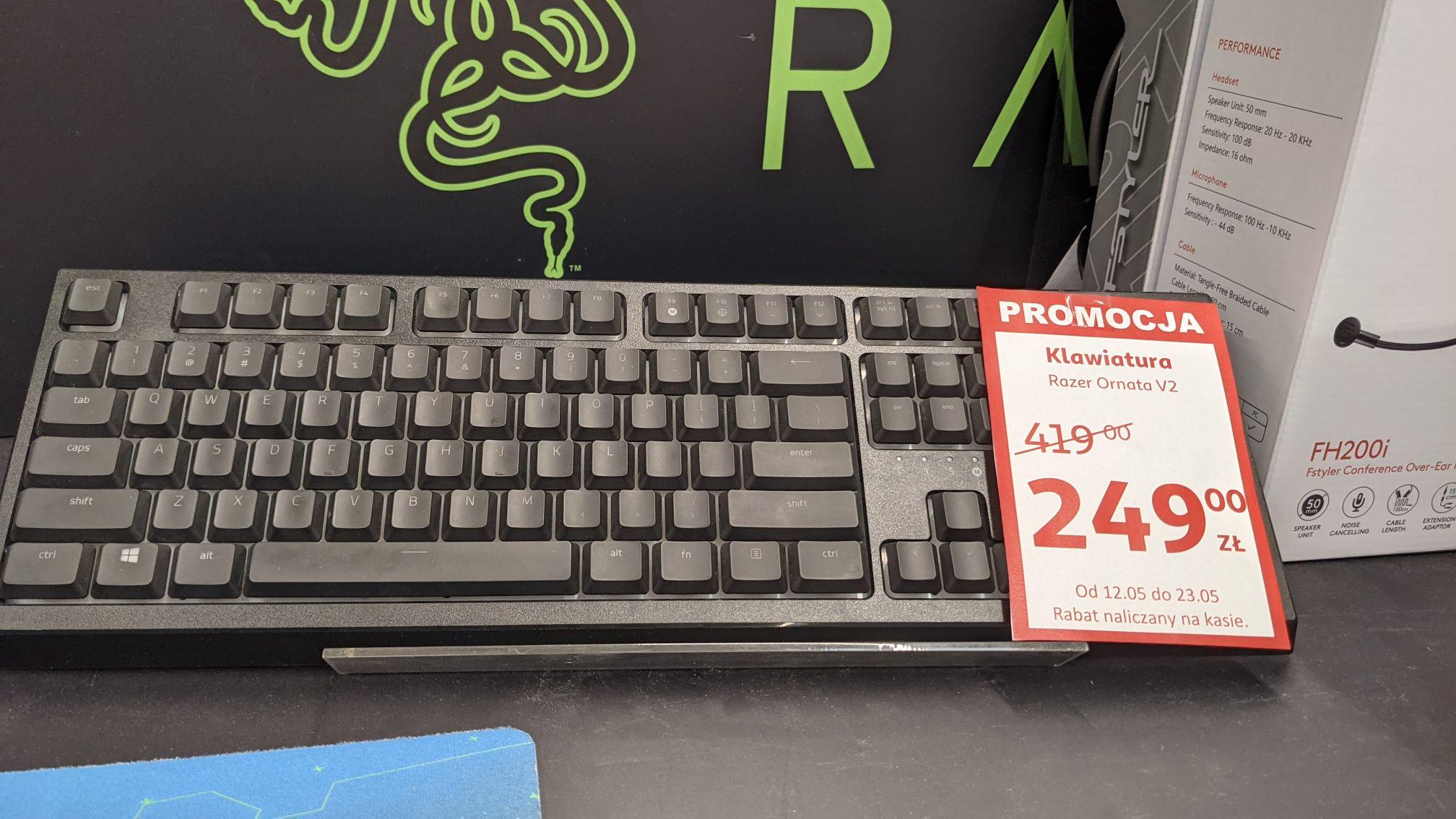Klawiatura Razer Ornata V2 Auchan Komorniki