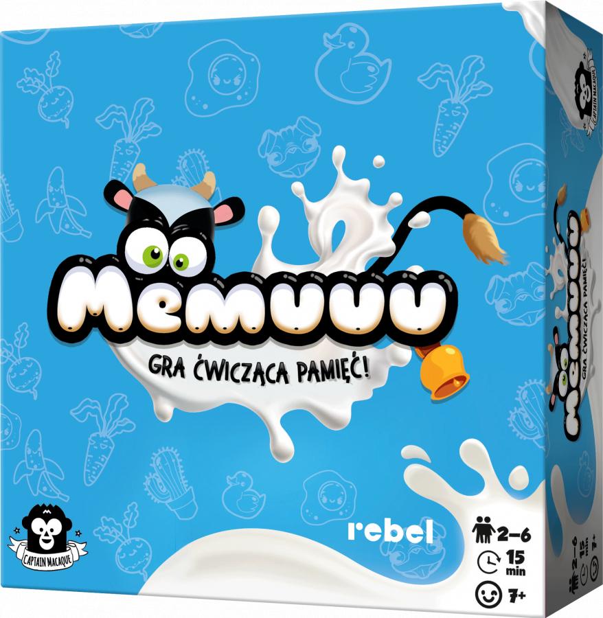 Gra memory Memuuu od Rebel