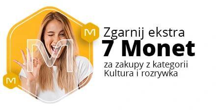 +7 Monet przy zakupie w kategorii Kultura i rozrywka za minimum 79 zł @Allegro