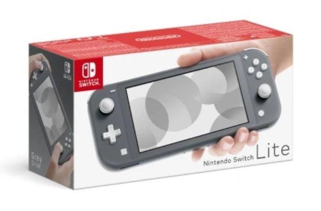 Konsola Nintendo Switch Lite szary Allegro