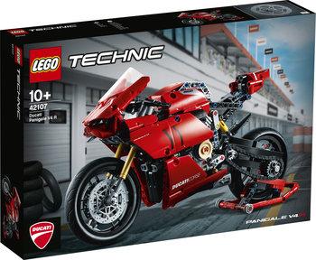 LEGO Technic, klocki Ducati Panigale V4 R, 42107