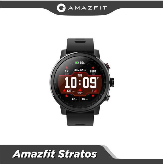 Smartwatch Amazfit Stratos za 77$ ok. 285zł z Hiszpanii! oraz Stratos 3 za 507zł z PL !!