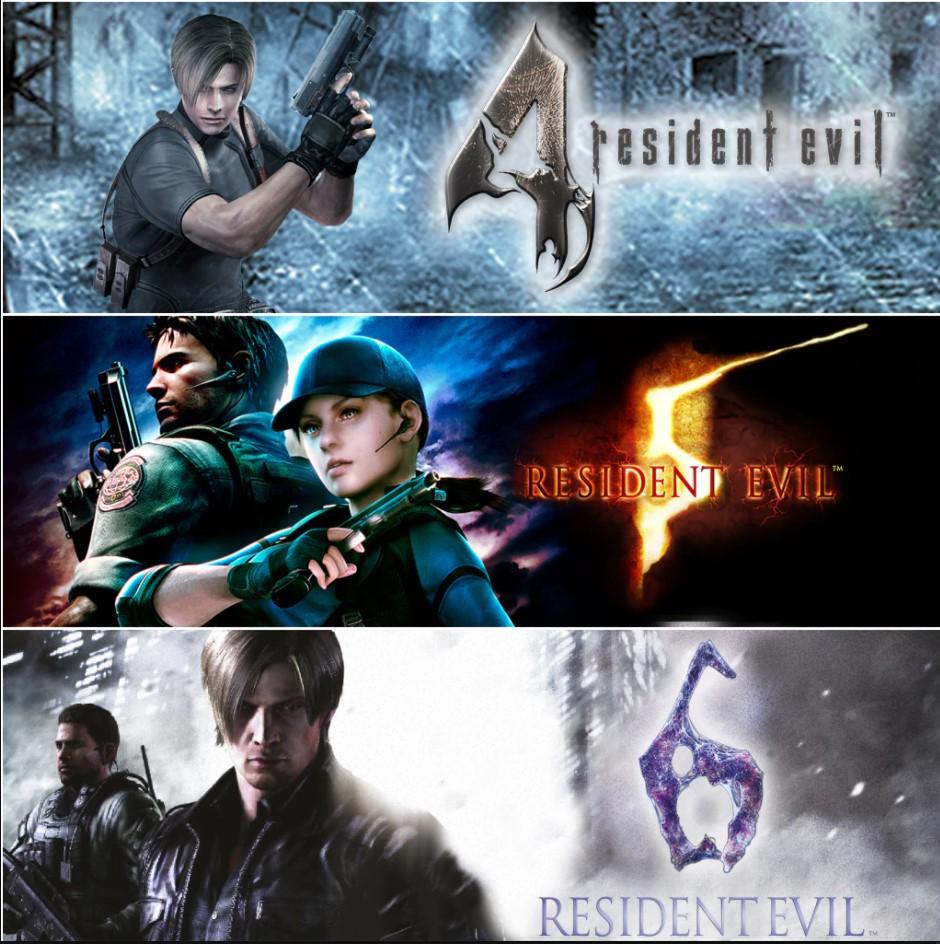 Potrójny pakiet Resident Evil 4,5,6 Xbox Plati Market 843,71 Rubli