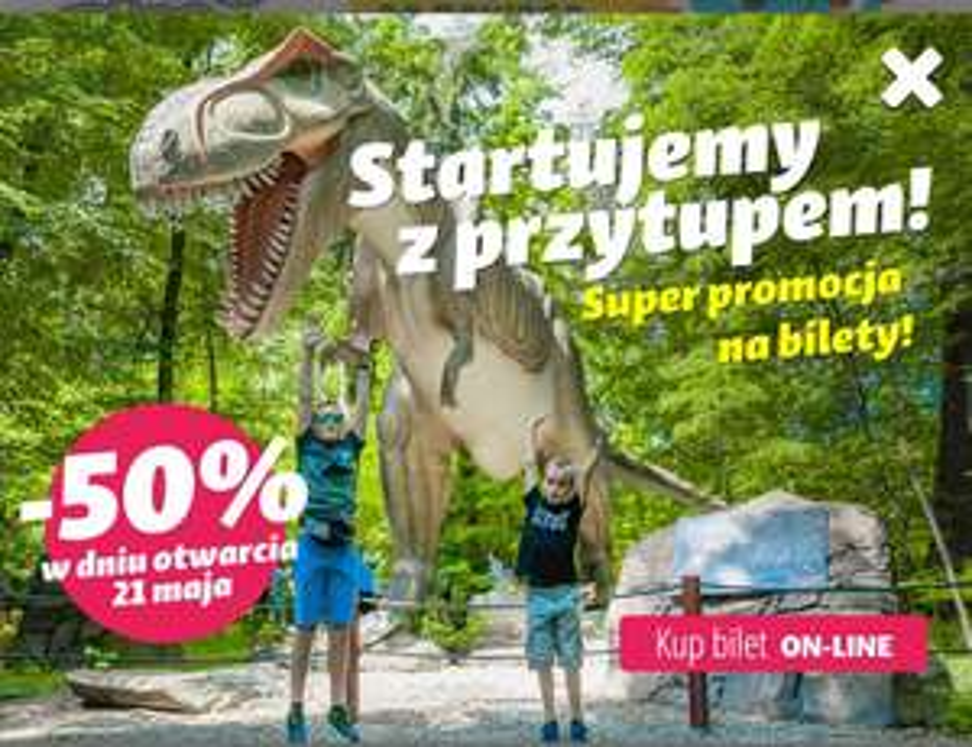 Wszystkie bilety DinoZatorLandu -50%