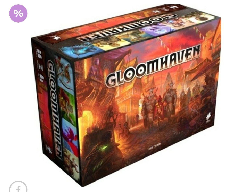 Gra planszowa Gloomhaven w Gandalf
