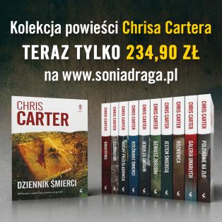 11 książek Chrisa Cartera z cyklu z Robertem Hunterem (w tym premierowa!) @SoniaDraga