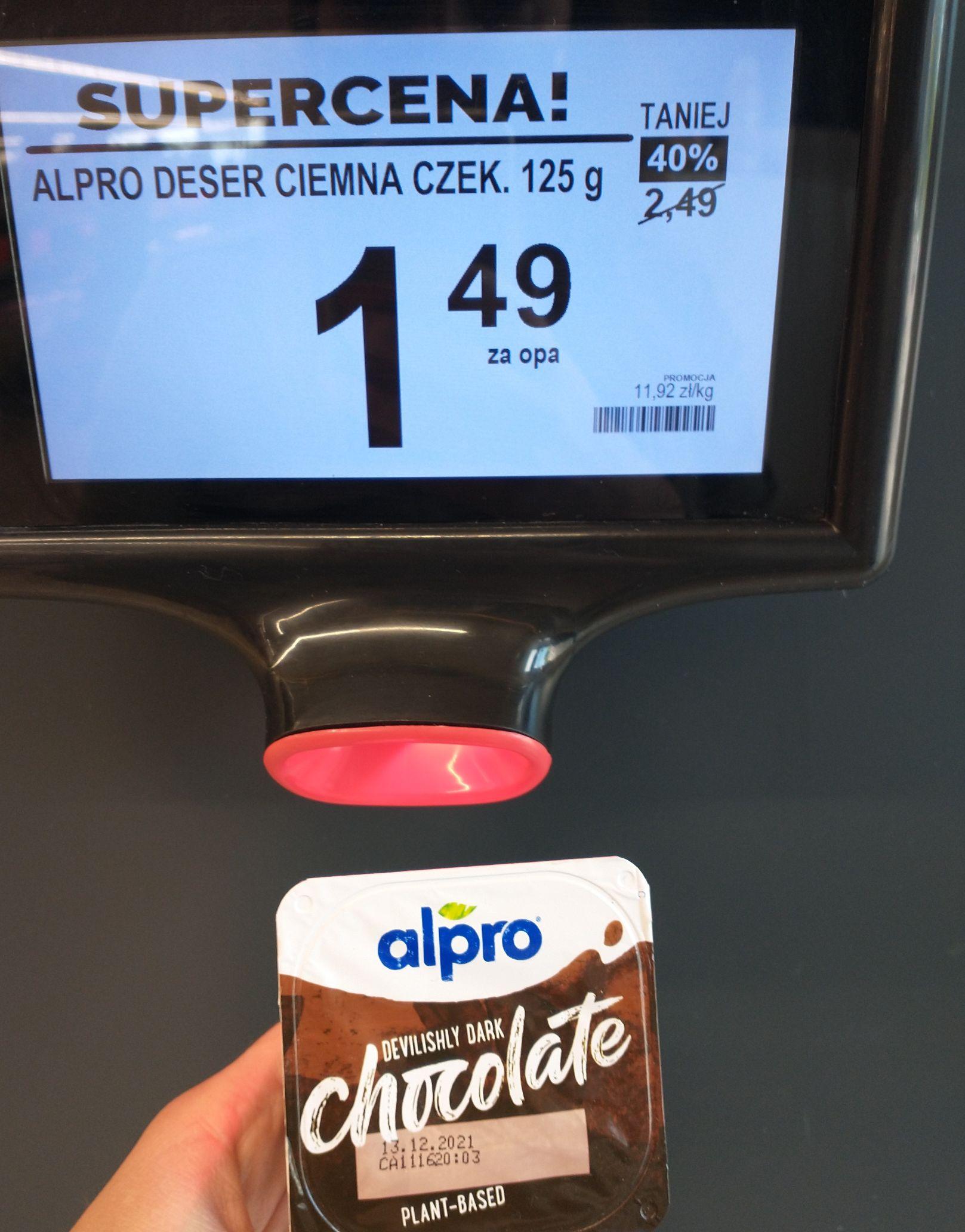 Desery czekoladowe Alpro @Biedronka