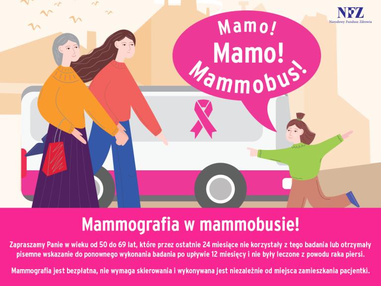 Darmowa mammografia dla kobiet 50 - 69