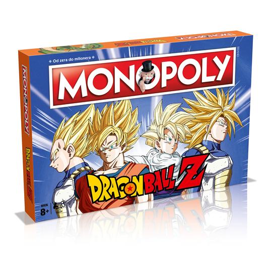 Monopoly dragon ball - gra planszowa