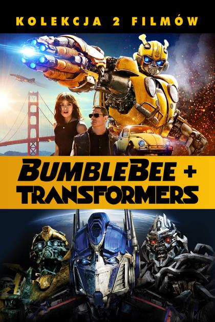 BUMBLEBEE + TRANSFORMERS - KOLEKCJA 2 FILMÓW - iTunes 4K, Apple TV, DV, DA