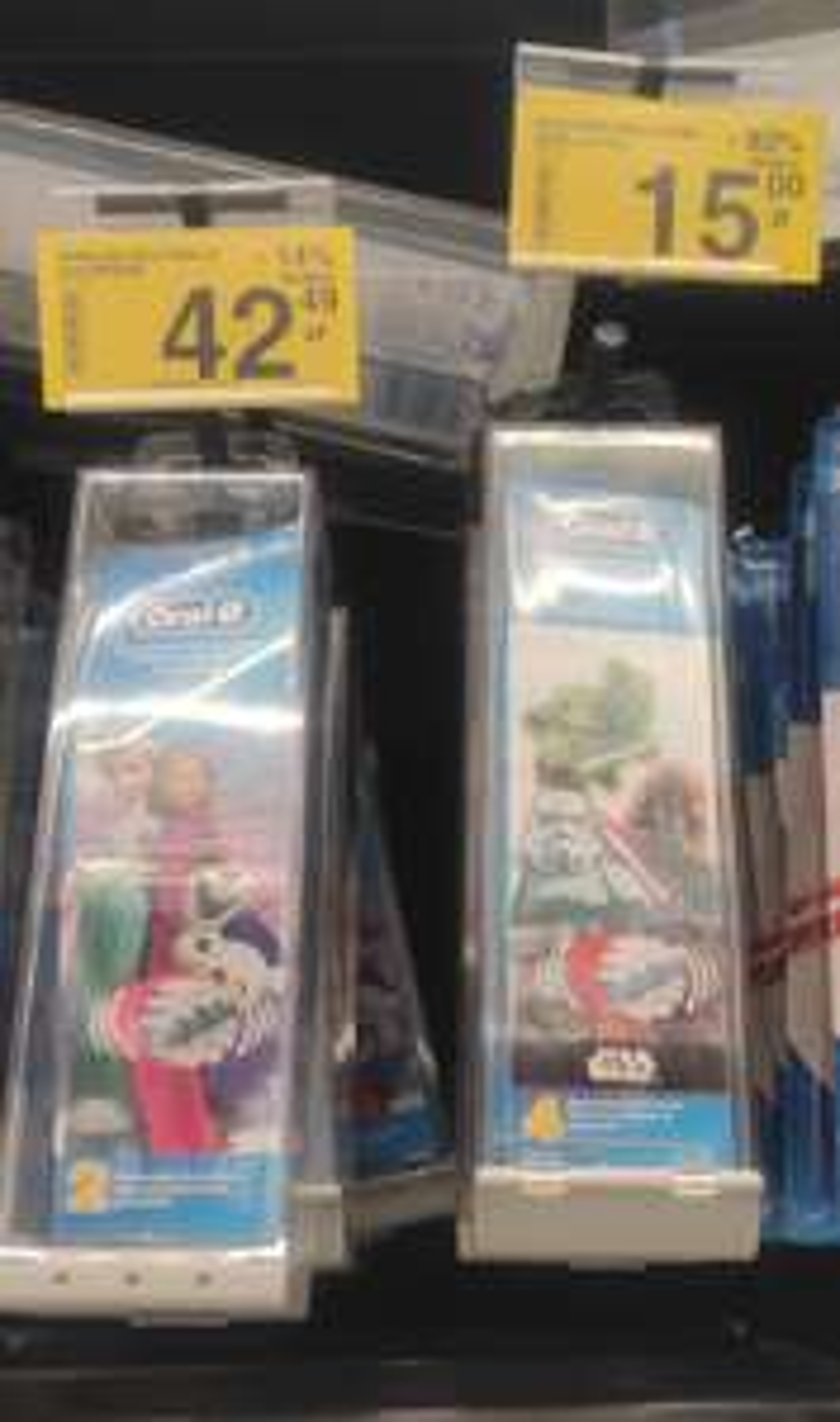 Końcówki do szczoteczki Oral-B Kids EB10-4 Star Wars i inne@Carrefour