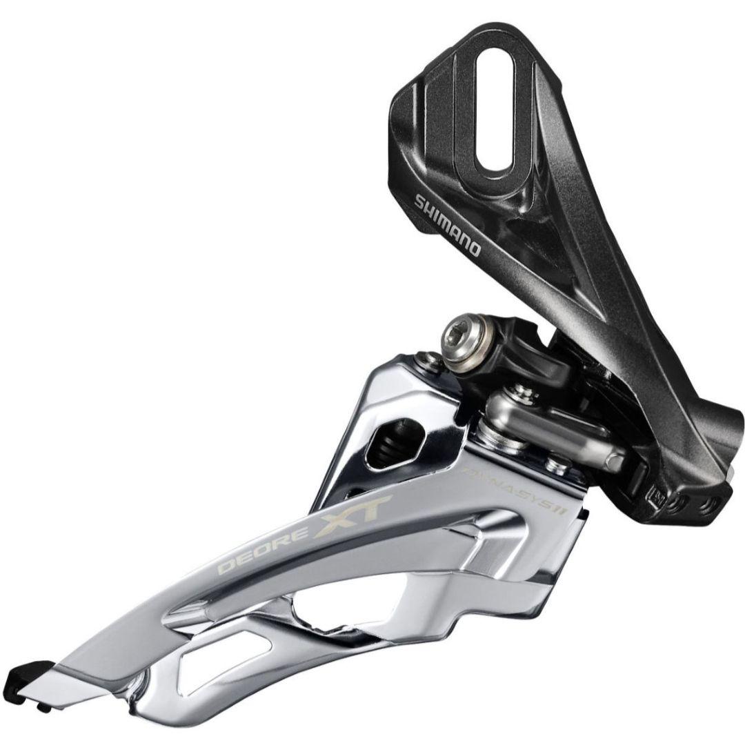Przerzutka rowerowa MTB Shimano Deore XT M8000 Front/przód Direct Mount 121-136g   10,34€ + 4,98 wysyłka (15,33€ = 68zl) @Wiggle