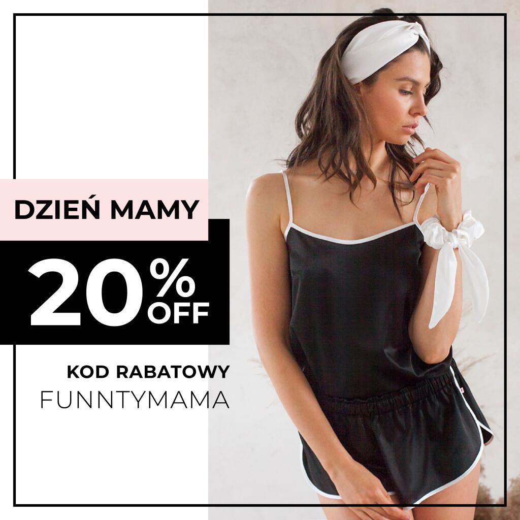 Piżamki Funnty -20% z okazji Dnia Matki