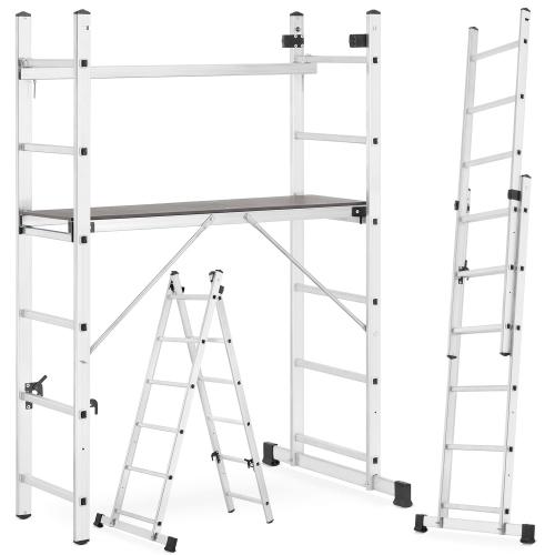 Mini rusztowanie / aluminiowy podest roboczy / drabina HIGHER 2x6 @ Higher