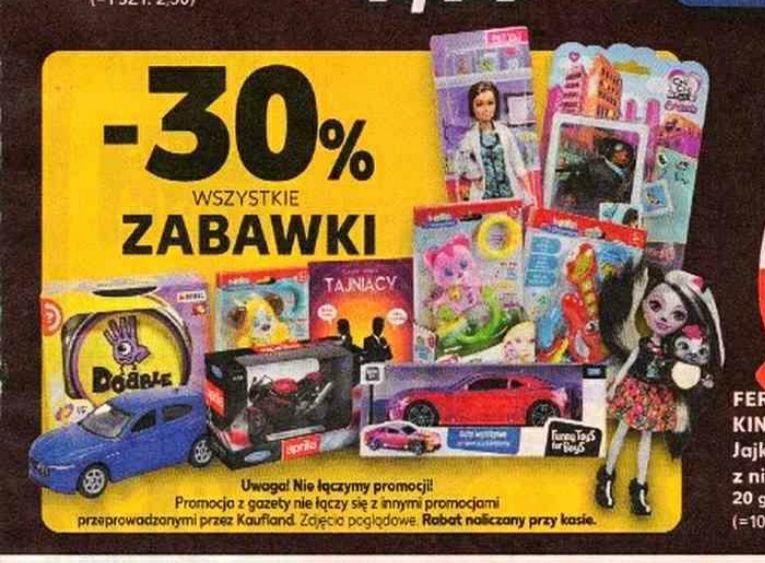 -30% na wszystkie zabawki - Kaufland
