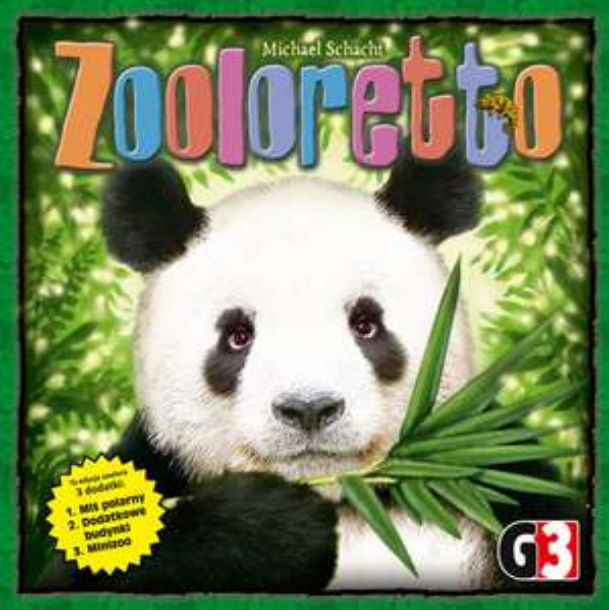 Gra planszowa - Zooloretto (BGG 6.8) @am76 / Gra rodzinna, towarzyska