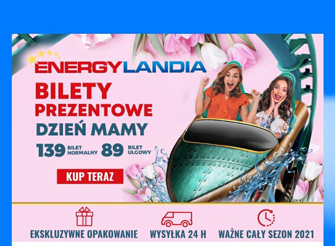 EnergyLandia Promocja Bilety z okazji dnia Mamy
