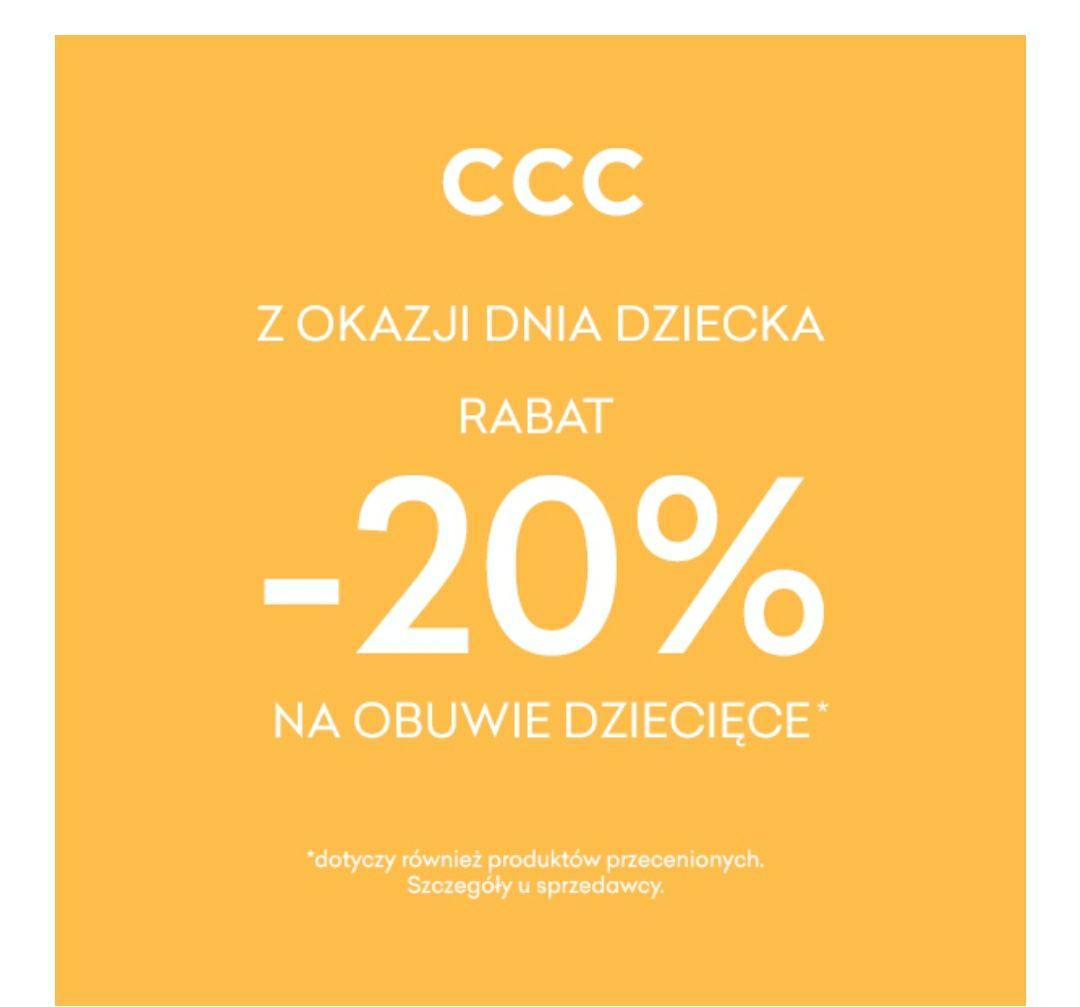 CCC - Jak Dzień Dziecka, to tylko z CCC!