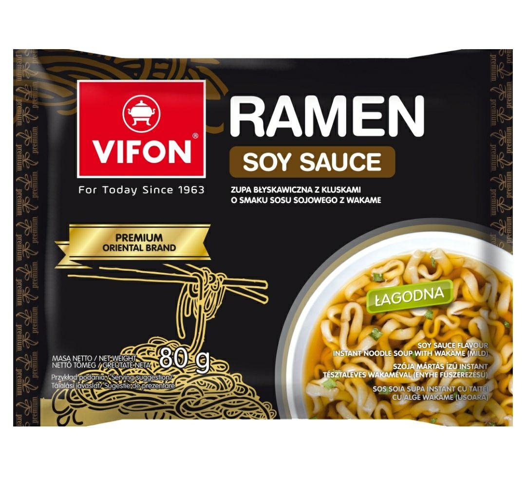 Zupy Vifon Ramen Soy Sauce 20szt.