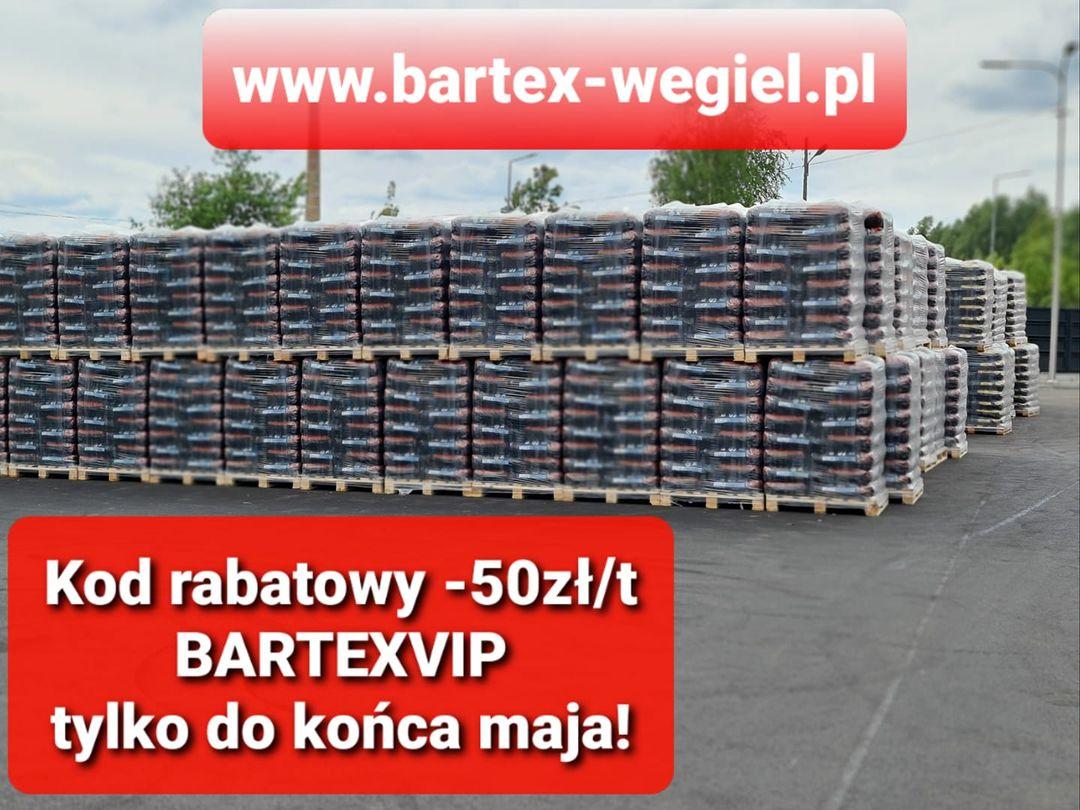 Ekogroszek Bartex -50zł za tonę
