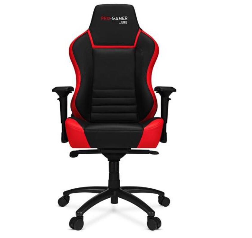 Fotel gamingowy Pro-Gamer Gorgon 2.0 (czarno-czerwony) @Euro